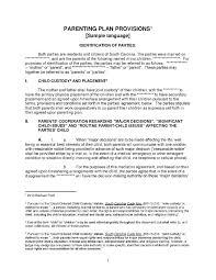 Custody Agreement Template Download Child Custody Agreement Style 3 Template For Free