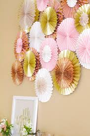 Paper Rosette Flower Paper Fan Paper Rosette Diy Dash Of Grace