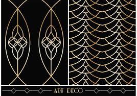 Art Patterns Mesmerizing Art Deco Geometric Vector Patterns Download Free Vector Art Stock