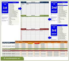 Timetable Creator Employee Schedule Maker Exceltemplate Net