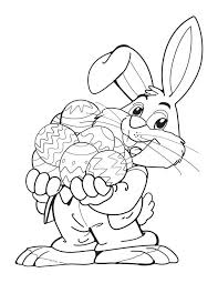 free easter printables home easter bunny with eggs