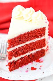 slice of birthday cake red velvet. Plain Red Red Velvet Layer Cake And Slice Of Birthday E
