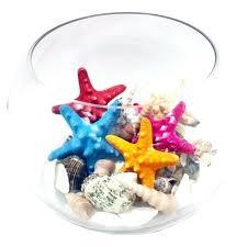 glass bubble bowl clear