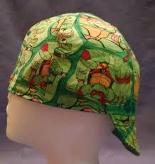 Ninja Turtles Inside Green Blue Red Black Welding Cap Reversible Cap Biker Cap Skull Cap Hat Liner Welders Cap Custom Cycling