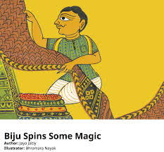 biju spins some magic cultural childrens story