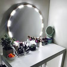 makeup mirror lighting. Vanity Mirror Lighting. 10 Ft Lighted Led Light For Cosmetic Makeup Kit With Lighting .