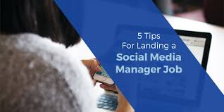5 Tips For Landing A Job As A Social Media Manager | Sociableblog