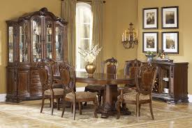 Old World  PC Double Pedestal Dining Room Set ART Furniture - Art for the dining room