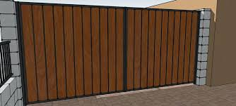 Metal And Wood Fence How To Add Privacy To Metal Fencing Rail Cedar