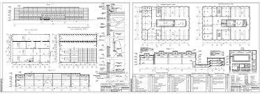 Курсовые и дипломные проекты промышленные здания скачать dwg  Курсовой проект Литейный цех в г