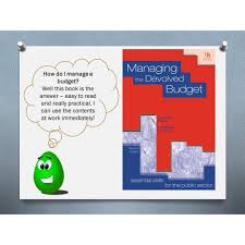Budgeting For Non Profit Organizations Training And Book For