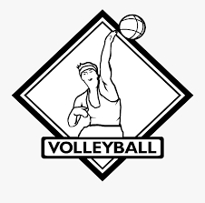 Coloring pages for kids volleyball coloring pages. Volleyball Logo Black And White Baseball Coloring Pages Free Transparent Clipart Clipartkey