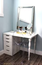 diy how to make a customized ikea makeup vanity the diy s vanity