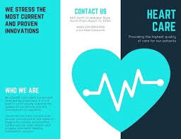 Brochures Templates Free Download Healthcare Brochure Templates Free Download Medical Clinic Examples