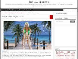 Muscle Barbie Megan Avalon FBB Wallpapers