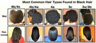 Hair Types Chart For Black Women