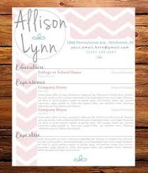 customized resume the allison lynn on etsy 4500 resume for cosmetologist
