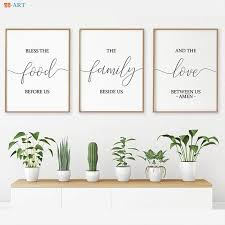 verse canvas painting signs print