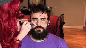 easy zombie makeup no liquid latex