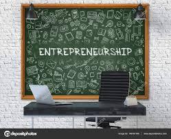 chalkboard office. Hand Drawn Entrepreneurship On Office Chalkboard. 3d. \u2014 Stock Photo Chalkboard M