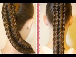 Hairstyle Easy Step By Step cute easy fishtail braid hairstyle step by step tutorial youtube 2425 by stevesalt.us