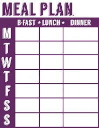 weekly menue planner 20 free menu planner printables welcome to the family table