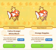 All Magikarp Patterns Interesting Review Of Pokémon's New Magikarp Jump Training App