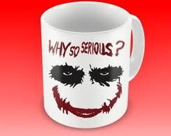 caneca why so serious 93804