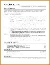 New Nurse Resume No Experience New Grad Rn Resume Sample Blaisewashere Com