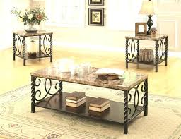 faux marble coffee table post contemporary end 3 piece set by coaster faux marble coffee table