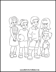 Small Picture Coloring Pages People My Activity Maker