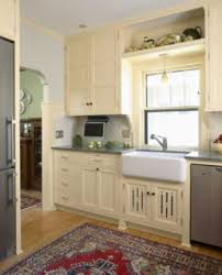 not all revival kitchens are done in natural finish hardwoods this is a new