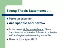 Image titled Write a Thesis Statement Step