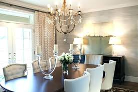 dining room chandelier size for room dining oversized chandeliers above solid oak table and white tufted