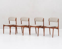 how tall are dining chairs unique set 4 model 49 dining chairs in teak by