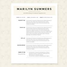 Executive Classic Format Resume Board Of Directors Resume Template