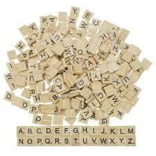 Wooden Game Pieces Bulk Buy Wooden Scrabble Game Pieces Tiles Letters Numbers Pick 98
