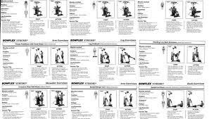 Bowflex Pr1000 Workout Chart Best Bowflex Routines The Famous 20 Minute Workout