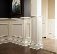 Chair Rail Applique Columns Traditional Ottawa by House of