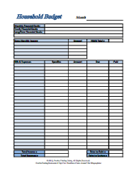 Budget Forms To Print Dave Ramsey Budget Forms Template Free Download Create