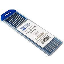 Tig Welding Tungsten Electrodes 2 Ceriated 3 32 X 7 Grey Wc20 10 Pack