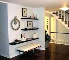 wall shelf decorations stylish floating shelves