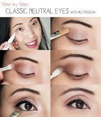 makeup tutorial clic neutral eyes with neutrogena