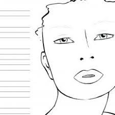 Stylist Design Ideas Makeup Coloring Page Illustration Pinterest