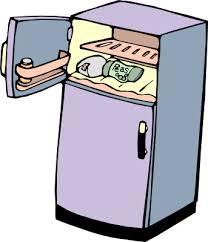 happy refrigerator clipart. full fridge clipart happy refrigerator