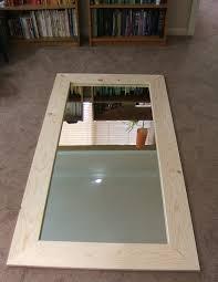 diy wood mirror frame diy wood mirror frame