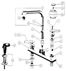 delta kitchen faucet replacement parts shower leaking valve rless sprayer k