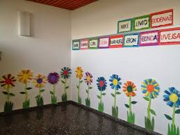 Klassenkunst Sommerliche Blumen Askartelu Fensterdeko Frühling