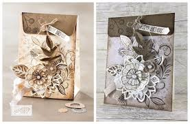 Just in CASE - Falling Flowers Stamp Set - Stamps To Die For