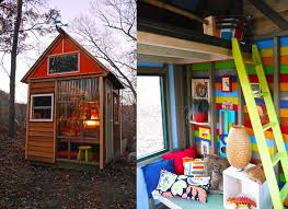 Small Picture 8 year old cub scouts build their own tiny house studio to raise